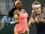 """Thể thao - Serena - Bacsinszky: """"Đàn em"""" cúi đầu (TK Indian Wells)"""