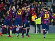 """Bóng đá - Barca vào tứ kết: 8 năm liên tiếp của nhà """"Vua"""""""