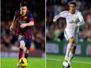 Bóng đá Tây Ban Nha - Vua phá lưới C1: M10, CR7 thua tiền đạo tai tiếng