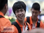 """Ảnh bóng đá - người đẹp - Công Phượng & U23 VN hào hứng đi Thái Lan """"thử lửa"""""""