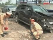 Camera hành trình - Nạn nhân vụ ôtô đối đầu ở Nghệ An kể lại phút kinh hoàng