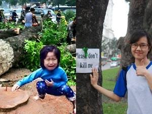 Bạn trẻ - Cuộc sống - Những hình ảnh chế về chặt cây đáng suy ngẫm