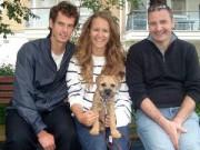 Thể thao - Tin HOT 20/3: Murray đặt tên cún cưng theo tên bạn gái