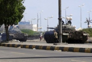 Yemen: Chiến đấu cơ lạ ném bom dinh tổng thống