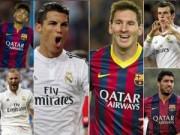 """Bóng đá Tây Ban Nha - El Clasico: Những """"họng súng"""" trong tay áo"""