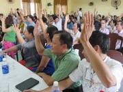 """Tin Đà Nẵng - Đà Nẵng: Dân """"thách"""" lãnh đạo để dân giơ tay biểu quyết!"""