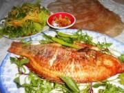 Ẩm thực - Thơm ngây ngất cá diêu hồng nướng mọi