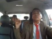 An ninh Xã hội - Camera giấu kín: Khi gặp tài xế taxi say rượu