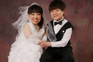 Bạn trẻ - Cuộc sống - Đám cưới đẹp như cổ tích của cặp đôi siêu tí hon