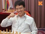 """Thể thao - Cờ vua: Quang Liêm """"vỡ òa"""" khi lên ngôi kịch tính"""