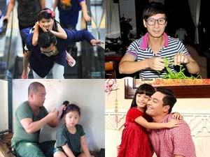 Ca nhạc - MTV - Những ông bố đảm đang mẫu mực của showbiz Việt
