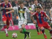 Bóng đá - Bayern - Gladbach: Nghệ thuật phản đòn