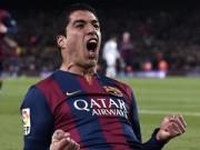 """Tin bên lề bóng đá - Báo chí thế giới ca ngợi Suarez """"siêu anh hùng"""" ở Barca"""