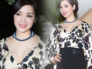 Thời trang - Hoa hậu Giáng My diện váy hàng hiệu gợi cảm