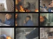 Video An ninh - Kỹ năng thoát hiểm khi cháy chung cư cao tầng