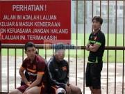 Ảnh bóng đá - người đẹp - U23 VN: Chủ nhà Malaysia chơi khó thầy trò HLV Miura