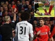 Sự kiện - Bình luận - Gerrard lĩnh thẻ đỏ: Bi kịch của người hùng