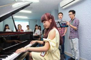 Giáo dục - du học - ĐH ngoài công lập đầu tiên đào tạo cử nhân Piano - Thanh nhạc