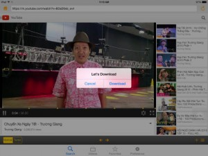Công nghệ thông tin - Ứng dụng tải video YouTube miễn phí trên iPhone, iPad
