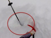 Thể thao - Đùa với tử thần: Đi trượt tuyết bị chôn sống
