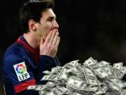 Bóng đá - Không phải Ronaldo, Messi mới kiếm tiền số 1