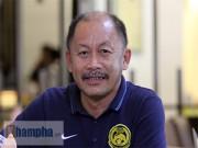 """Bóng đá Việt Nam - HLV U23 Malaysia gửi """"chiến thư"""" tới thầy trò Miura"""