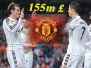 Bóng đá Tây Ban Nha - Mua Ronaldo hay Bale: MU phải chọn một