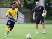 """Bóng đá - U23 Malaysia mất """"trọng pháo"""" đấu U23 Việt Nam"""