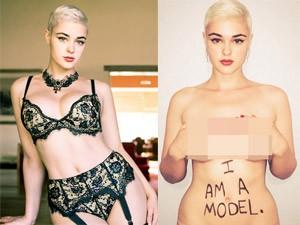 Thời trang - Tung ảnh bán khỏa thân vì bị xếp vào hàng mẫu béo