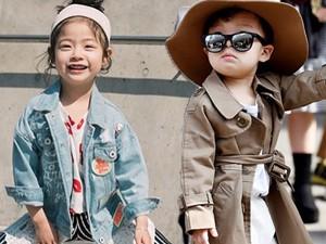 Thời trang - Choáng vì độ sành điệu của nhóc tì tại Seoul FW