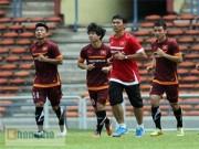 Bóng đá - Các cầu thủ U23 VN hào hứng làm quen sân Shah Alam