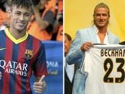 Bóng đá Tây Ban Nha - Neymar: Chàng Beckham của Barca