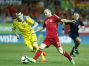 Các giải bóng đá khác - Tây Ban Nha - Ukraine: Kết cục tất yếu