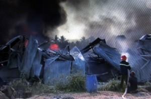 Tin tức trong ngày - Cháy kho vải, Bến Tre xin cứu viện từ TPHCM, Tiền Giang