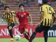 """Bóng đá - HLV Vương Tiến Dũng: """"U.23 VN thắng vì U.23 Malaysia đá tệ quá"""""""