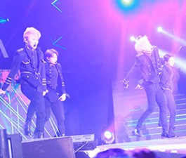 Ca nhạc - MTV - Dàn sao Kpop cháy hết mình tại sân Mỹ Đình
