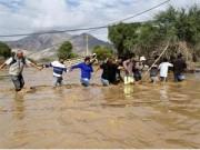 Tin tức trong ngày - Chùm ảnh: Miền Bắc Chile hứng chịu lũ lụt lịch sử