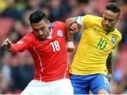 Bóng đá - Brazil – Chile: Thần tài dự bị