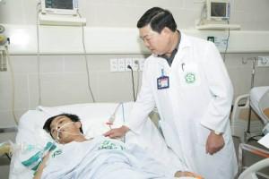 Vụ sập giàn giáo: Bệnh nhân có thể phải thay phổi nhân tạo
