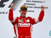"""Đua xe F1 - BXH Malaysian GP: Vettel """"nâng bước"""" Ferrari"""