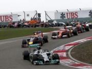 Thể thao - Lịch thi đấu F1: Chinese GP 2015