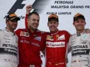 Đua xe F1 - Malaysian GP: Nước mắt Vettel, nụ cười Ferrari