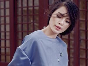 Thời trang - Thu Hiền xinh đẹp với thời trang tối giản