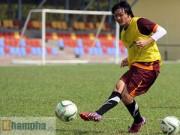 """Ngôi sao bóng đá - Xem Tuấn Anh, Văn Toàn...tập """"bắn"""" chờ U23 Macau"""