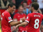 Bóng đá Ngoại hạng Anh - MU & đội hình tối ưu: Không Di Maria, Mata, Falcao