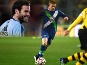 """Bóng đá - Van Gaal tính """"cuỗm"""" siêu tiền vệ, Mata đòi trở lại ĐT TBN"""