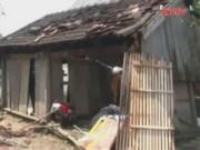 Video An ninh - Hà Tĩnh: Hàng trăm ngôi nhà tốc mái do lốc xoáy, mưa đá