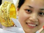 Tin giá vàng - Vàng SJC 'một chữ' mất 40.000 đồng/lượng