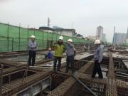 Tin tức trong ngày - Thi công đường sắt Cát Linh – Hà Đông xuyên Tết