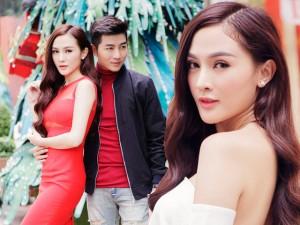 Hot girl Kelly tình tứ bên trai đẹp dạo phố Sài Gòn